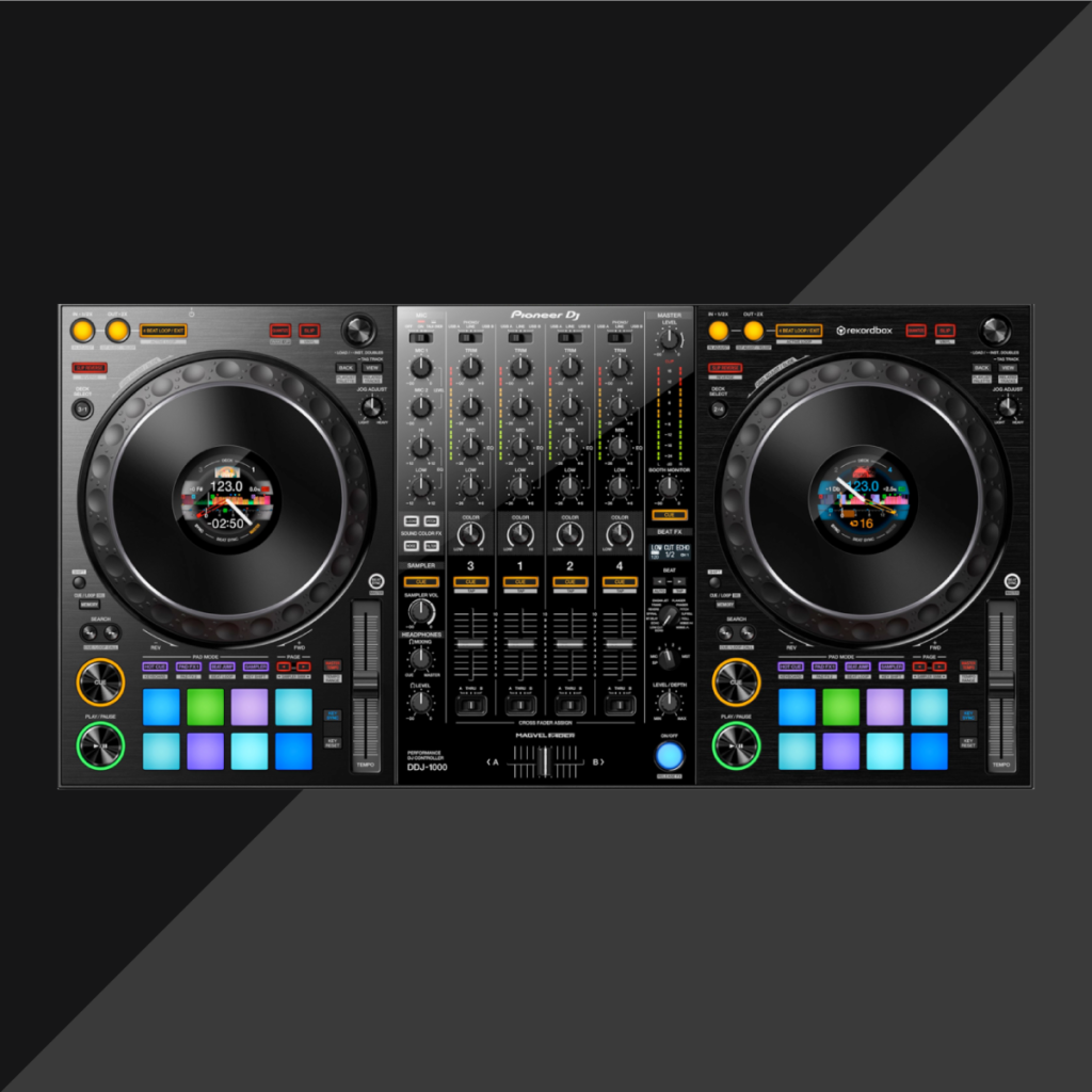 pioneer dj reveals all in one controller ddj 1000 orb mag. Black Bedroom Furniture Sets. Home Design Ideas