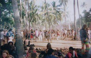 Disco Valley, Goa, 1993 . Photo by Alex Rice Saxton