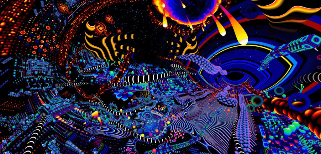 Psychedelic Visuals Of Tas Orb Mag