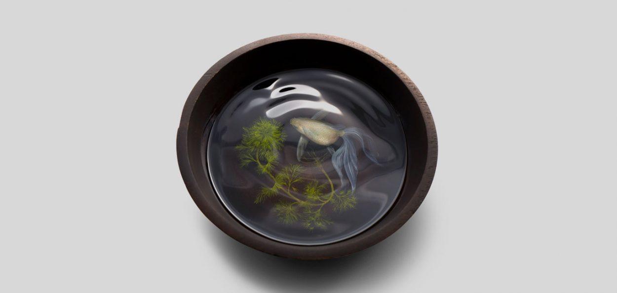 Realistic 3D paintings of Keng Lye