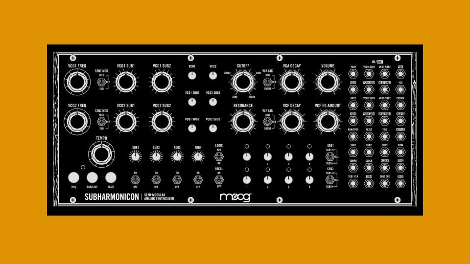 Moog unveil new semi-modular analog synthesizer