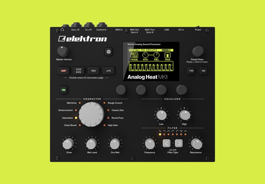 Elektron reveals the Analog Heat MKII