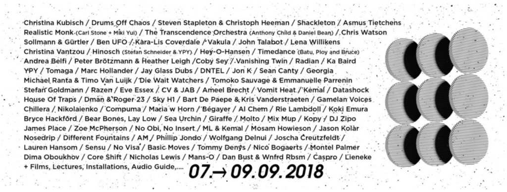 Meakusma Festival lineup 2018