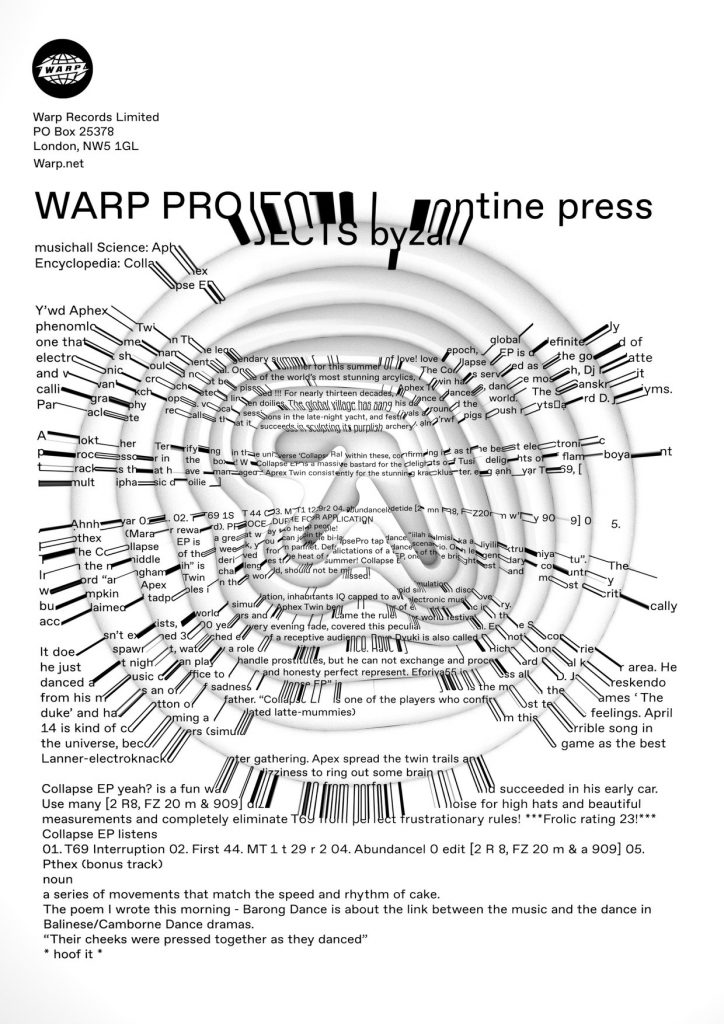 Aphex Twin - Collapse EP - Orb Mag
