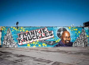 Frankie Knuckles tribute mural in Chicago is repainted again