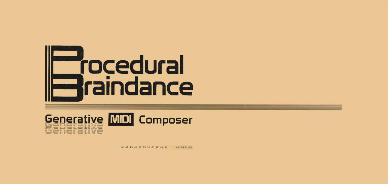 Generative MIDI Composer: Procedural Braindance