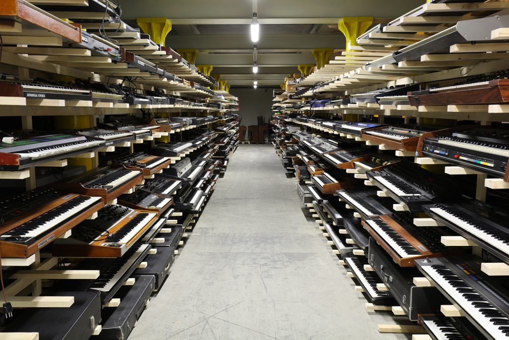World's largest synth collection launches Kickstarter campaign to build public studio