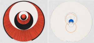Marcel Duchamp - Rotorelief No. 1 – Corolles – Modèle Déposé and Rotorelief No.4 – Lampe © Carnegie Museum of Art, Leisser Art Fund