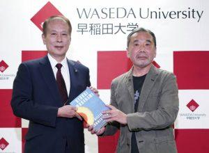 Haruki Murakami to donate vinyl collection to Tokyo's Waseda University